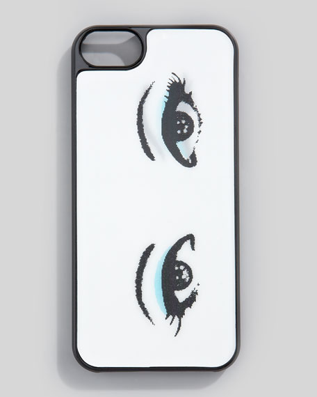 Winking All Eyes Hologram iPhone 5 Case