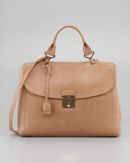 The 1984 Satchel Bag, Beige
