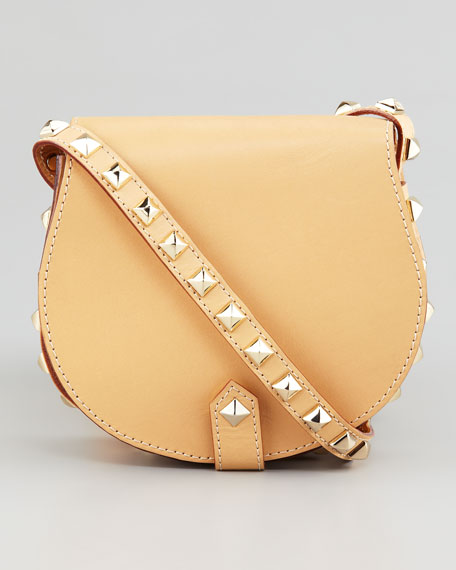 Skylar Studded Mini Messenger Bag