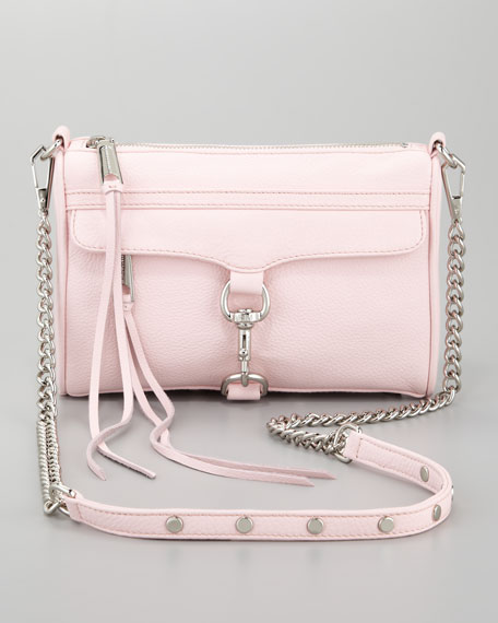 Mini MAC Crossbody Bag, Petal Pink
