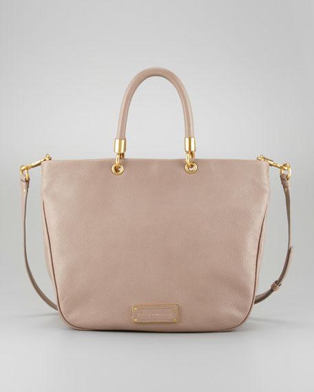Too Hot to Handle Mini Tote Bag, Tan
