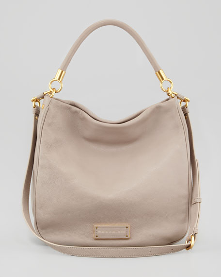 Too Hot To Handle Hobo Bag, Tan