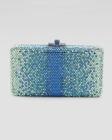 Airstream Large Ombre Pointillist Clutch Bag, Blue