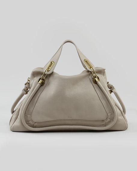 Paraty Medium Shoulder Bag, Gray