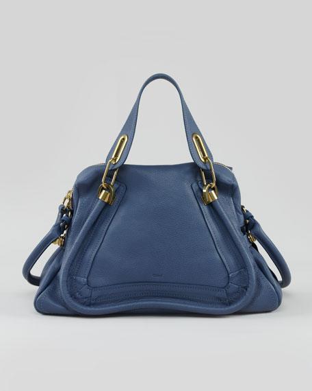 Chloe Paraty Medium Shoulder Bag, Blue