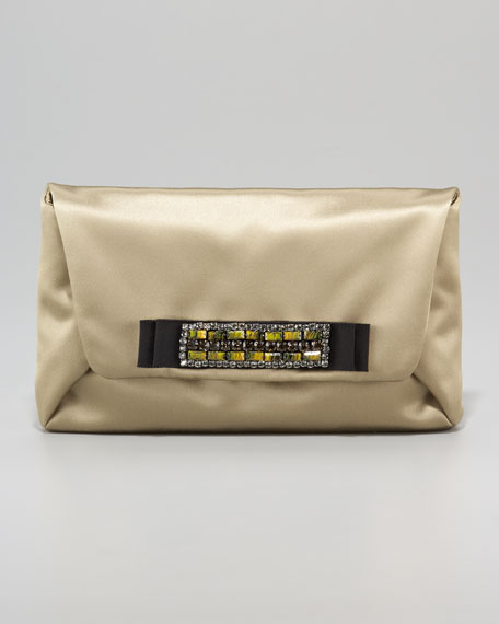 Mai Tai Satin Clutch Bag