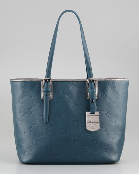 Quilt Embossed Tote Bag