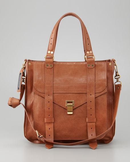 PS1 Tote Bag, Saddle