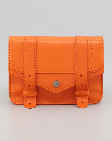 PS1 Large Chain Wallet, Orange