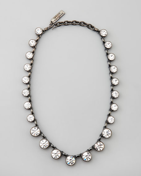 Graduated-Crystal Necklace