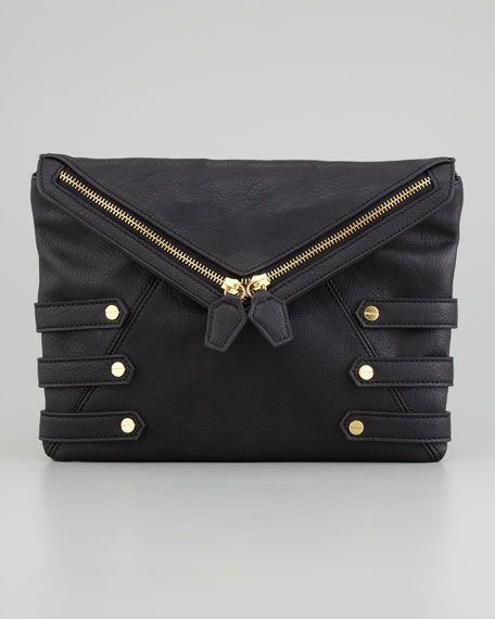 Diane Crossbody Clutch Bag, Black
