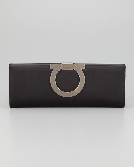 Musa Gancini Clutch Bag, Black