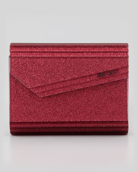 Jimmy Choo Candy Clutch Bag, Pink