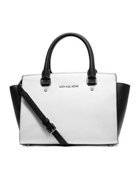 Medium Selma Saffiano Satchel