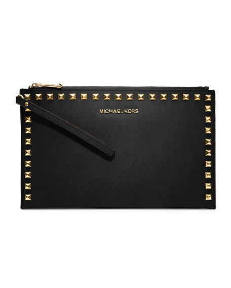michael kors studded handbag