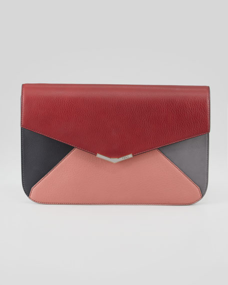 2Jours Colorblock Clutch Bag, Multi