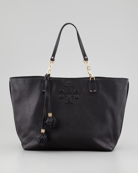 Thea Large Tote Bag, Black