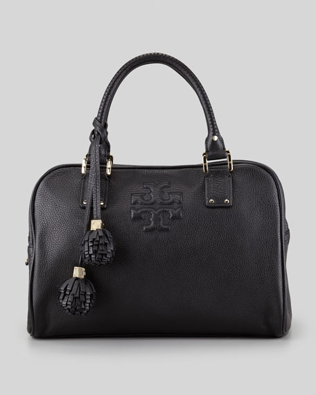 Thea Satchel Bag, Black