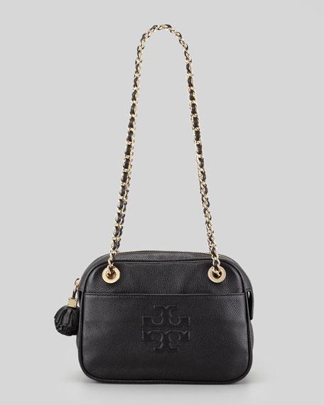 Thea Chain Shoulder Bag, Black