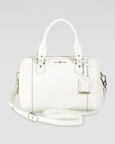 Linley Barrel Bag, Ivory