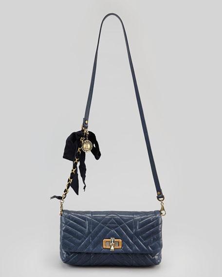 Happy Poppy Pouchette Bag, Navy