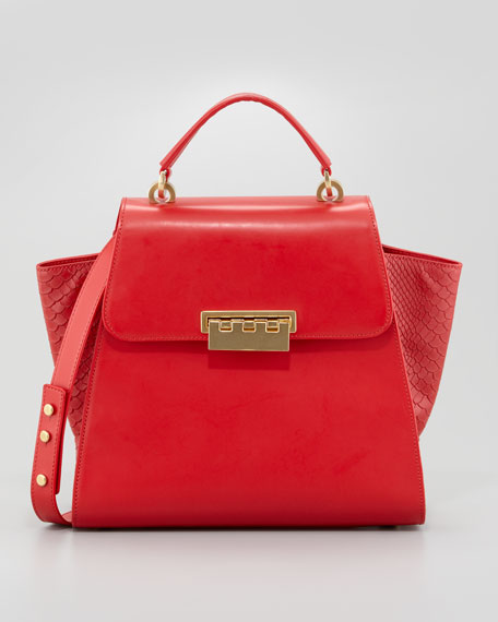 Eartha Tote Bag, Poppy