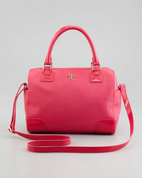 Robinson Middy Satchel Bag, Bougainvillea Pink