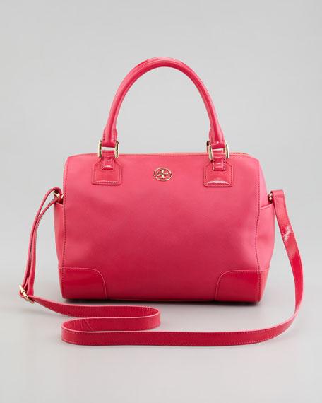 Robinson Middy Satchel Bag, Bougainvillea Pink