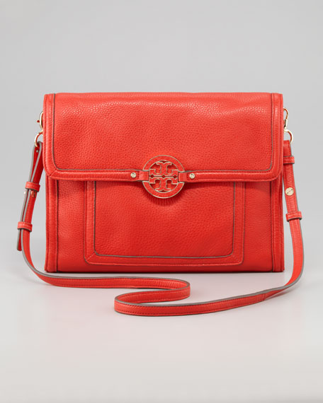 Amanda E-Tablet Crossbody Bag, Lobster