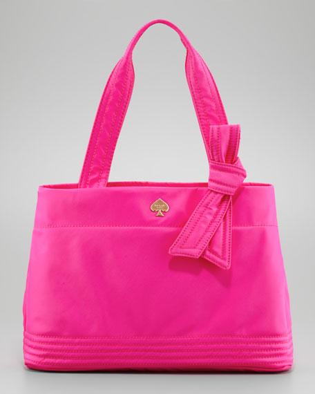flatiron maryanne tote bag, pink