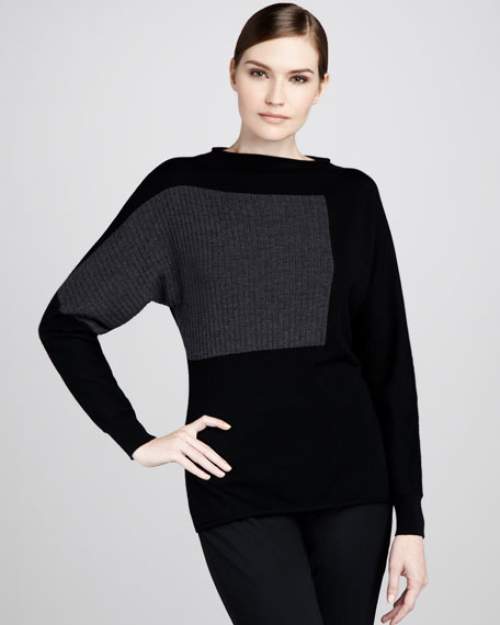 Colorblock Dolman Sweater