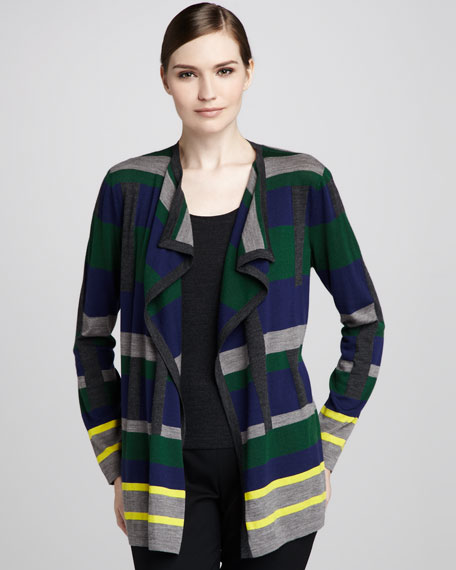 Cubism Colorblock Cardigan