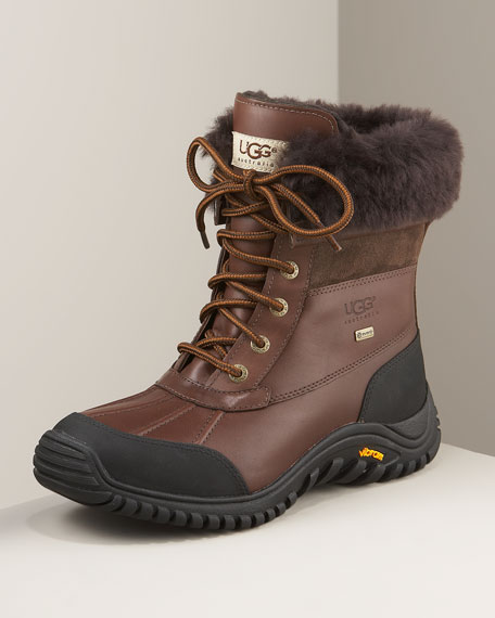 Adirondack Lugged Sole Shearling Boot II