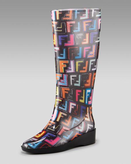 Graffiti Rain Boot