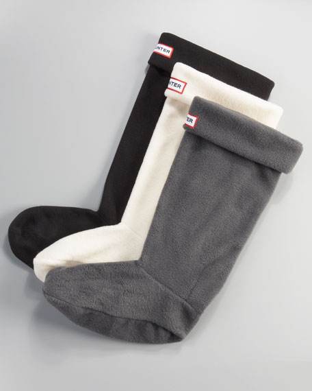 Welly Fleece Socks