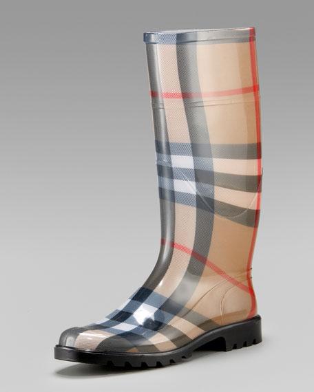 Check Rain Boot