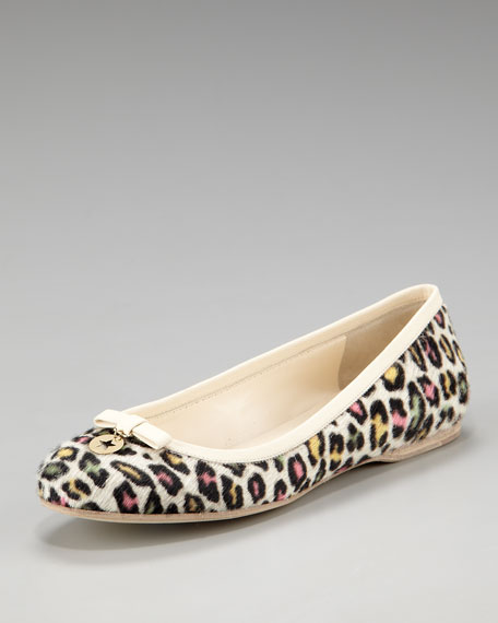 Leopard-Painted Flat
