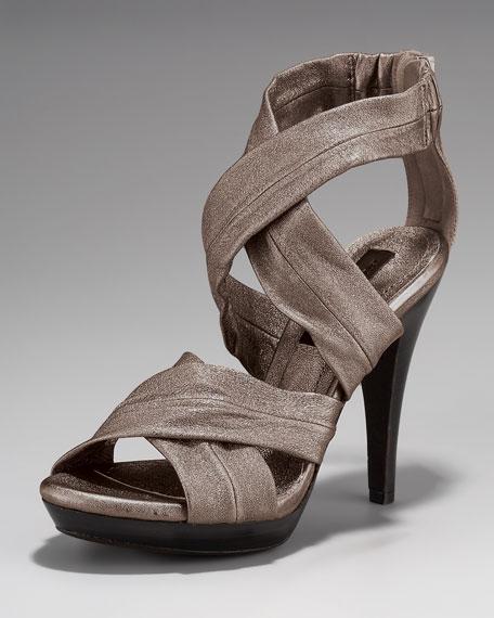 Burberry Crisscross Sandal