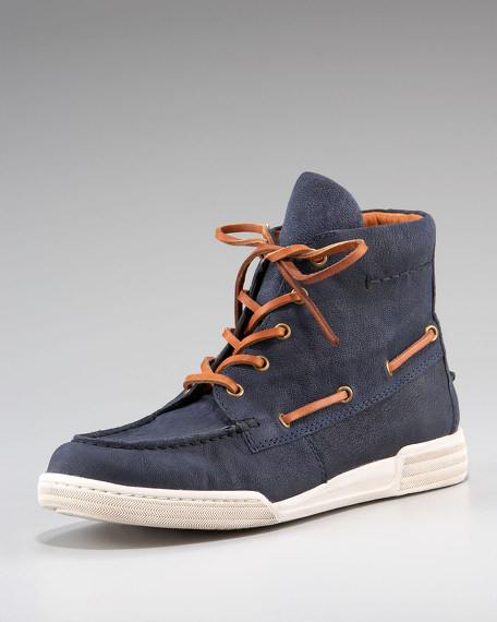 Lace-Up Sneaker Boot
