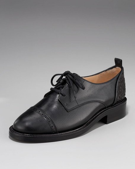 Bande Derby Lace-Up Oxford