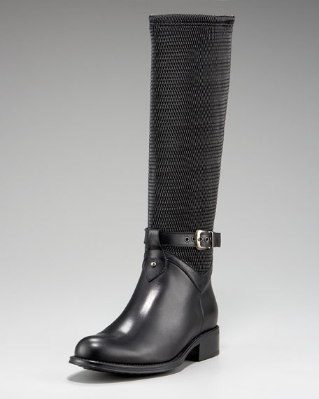 Undy Perforated Stretch Riding Boot