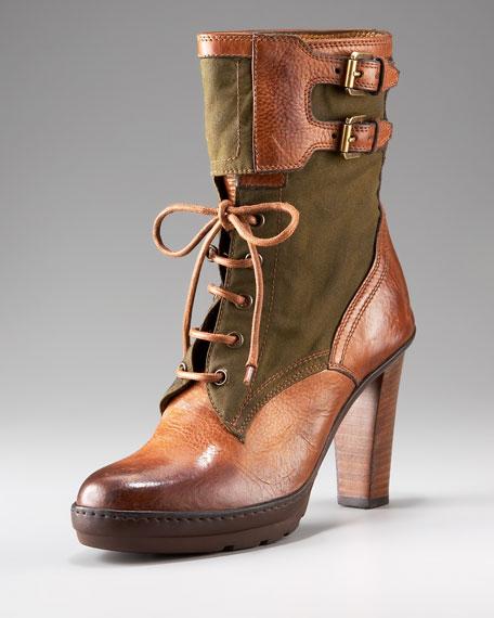 Forala Oil Cloth Boot