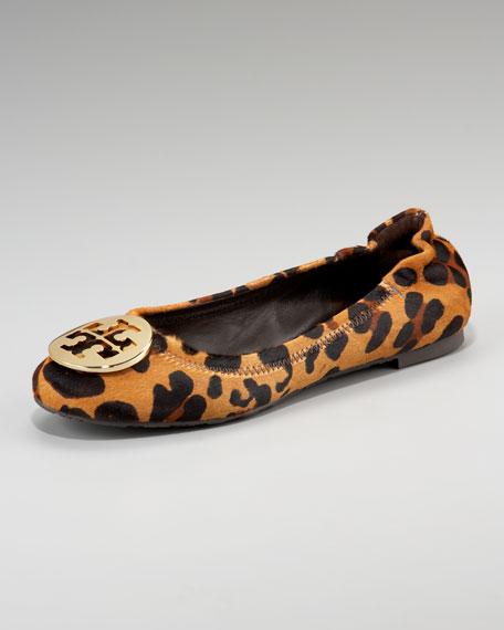 Reva Leopard-Print Ballerina Flat