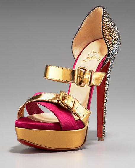 Ambertina Bejeweled Sandal