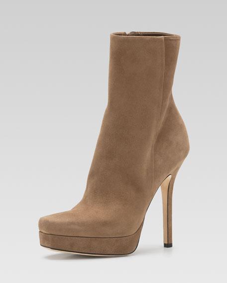 Gucci Tile High-Heel Platform Bootie