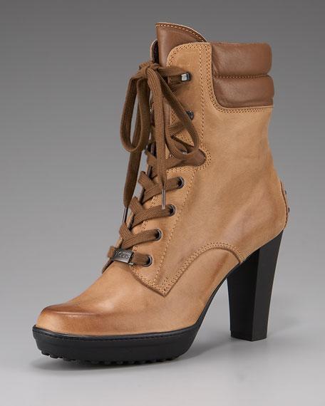 Asp Tronchetto Stringhe Boot