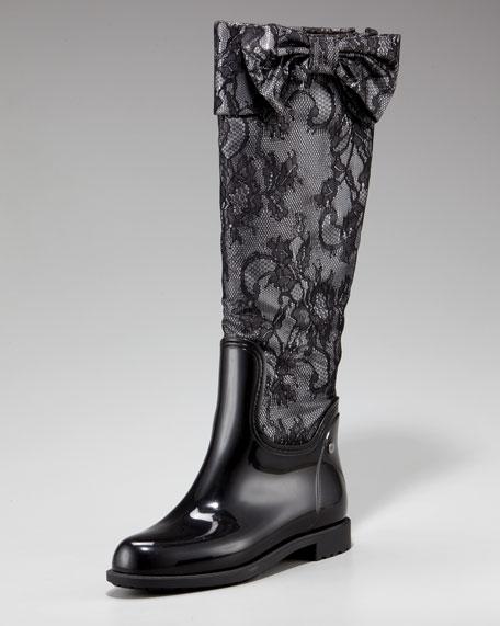 Valentino Bow Rain Boot