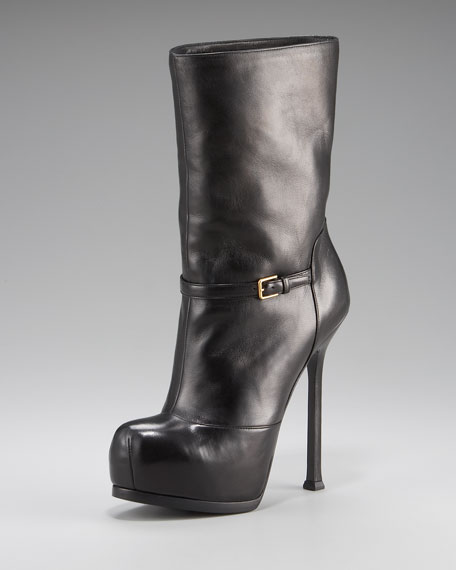Shearling-Lined Tribtoo Boot