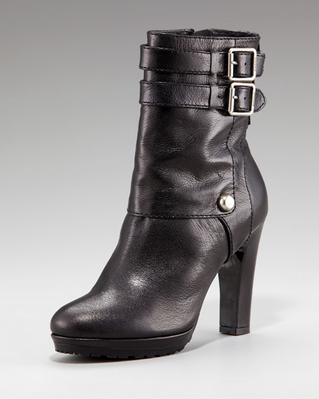 Cambria Buckled Ankle Boot