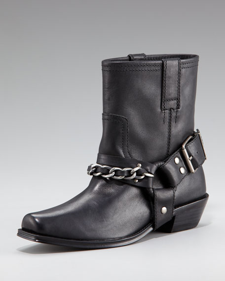 Darby Chain-Harness Boot